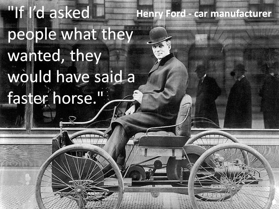 Henry Ford - car manufacturer | Design / Creativity Quotes ...