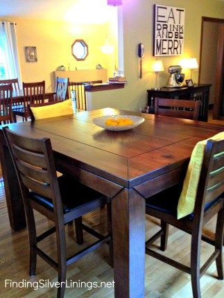 Counter Height Kitchen Table Finding Silver Linings Bar Height Kitchen Table Counter Height Kitchen Table Tall Kitchen Table