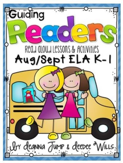 No Prep Print and Go Lesson Planning made easy!  Reading, Phonics, Comprehension, Word Work and More!  This isn't a packet of worksheets.   These are actual Lessons that guide you through the process of using Read Alouds to teach the standards for Reading and Phonics.