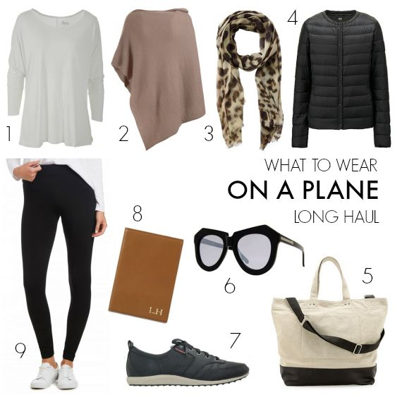 182a35145dde What to wear on a plane - long haul flight More