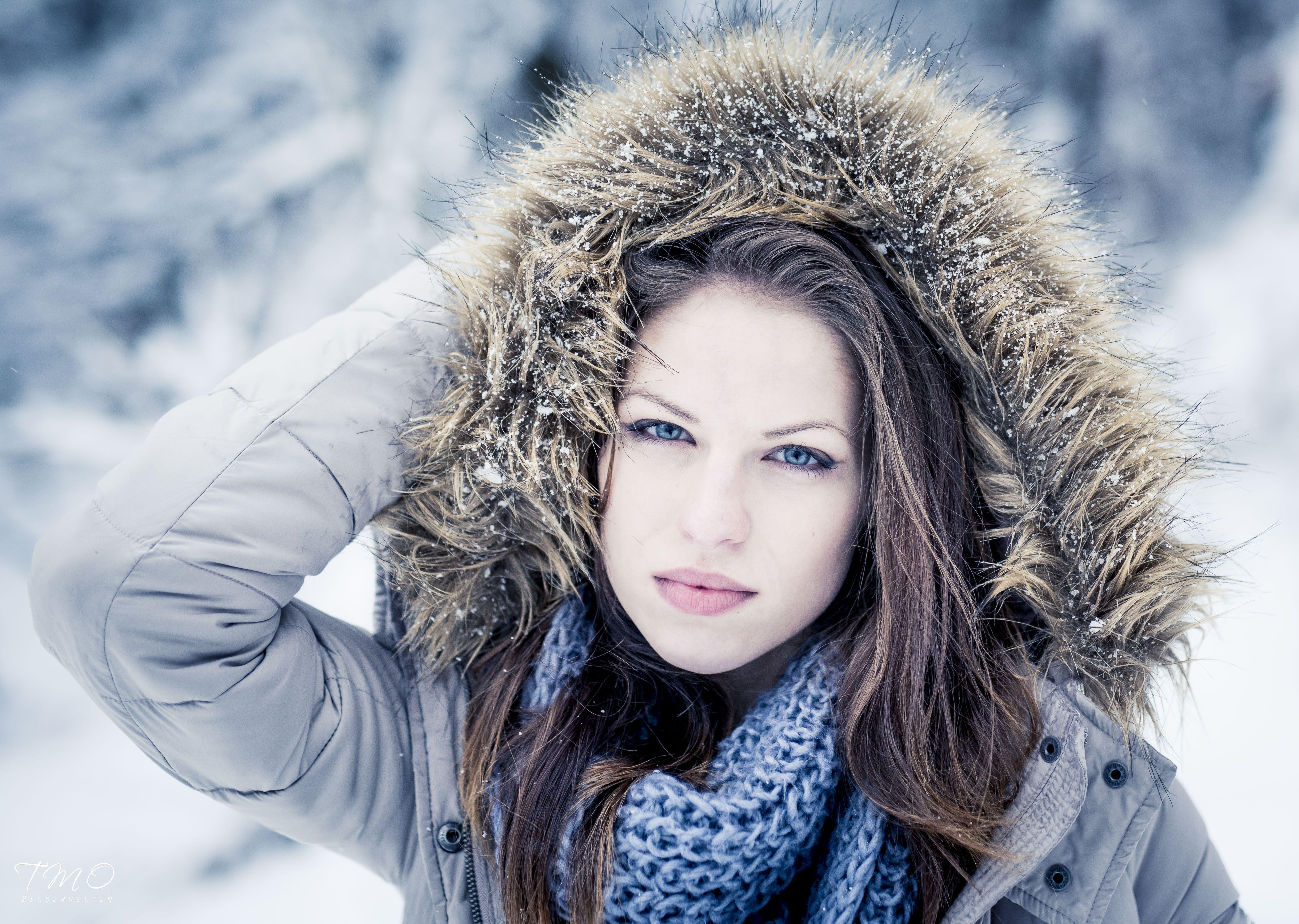 Wintershooting mit Janina