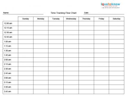 Printable Time Management Charts  Time Management Management And
