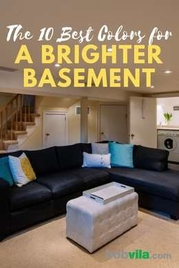 the 10 best colors for a brighter basement with images on basement wall paint colors id=23866