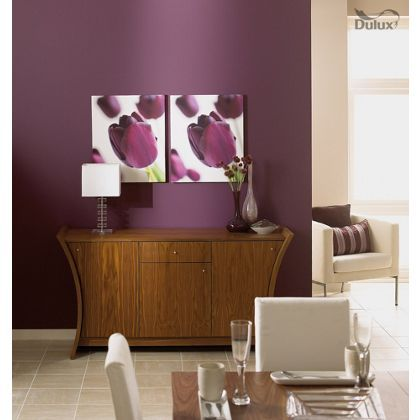 Dulux Mulberry Burst Sitting Room Bedroom Wall Colors