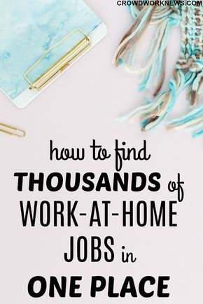 Having a hard time finding legitimate work-at-home jobs? I know it\u0027s