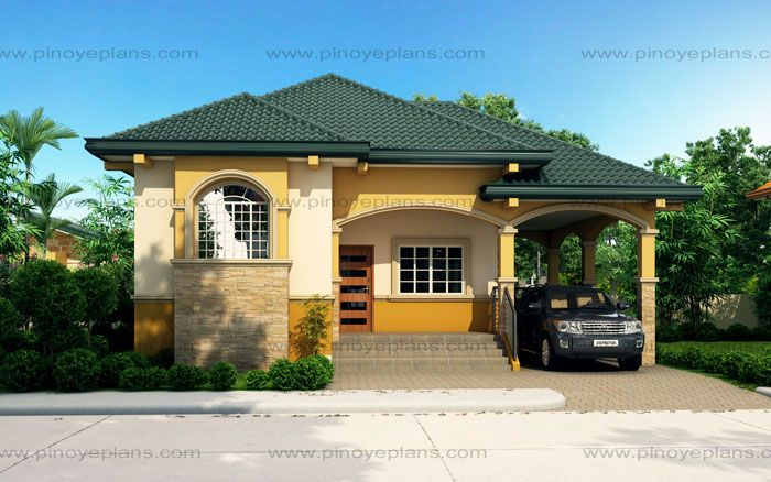 althea - elevated bungalow house design | pinoy eplans - modern