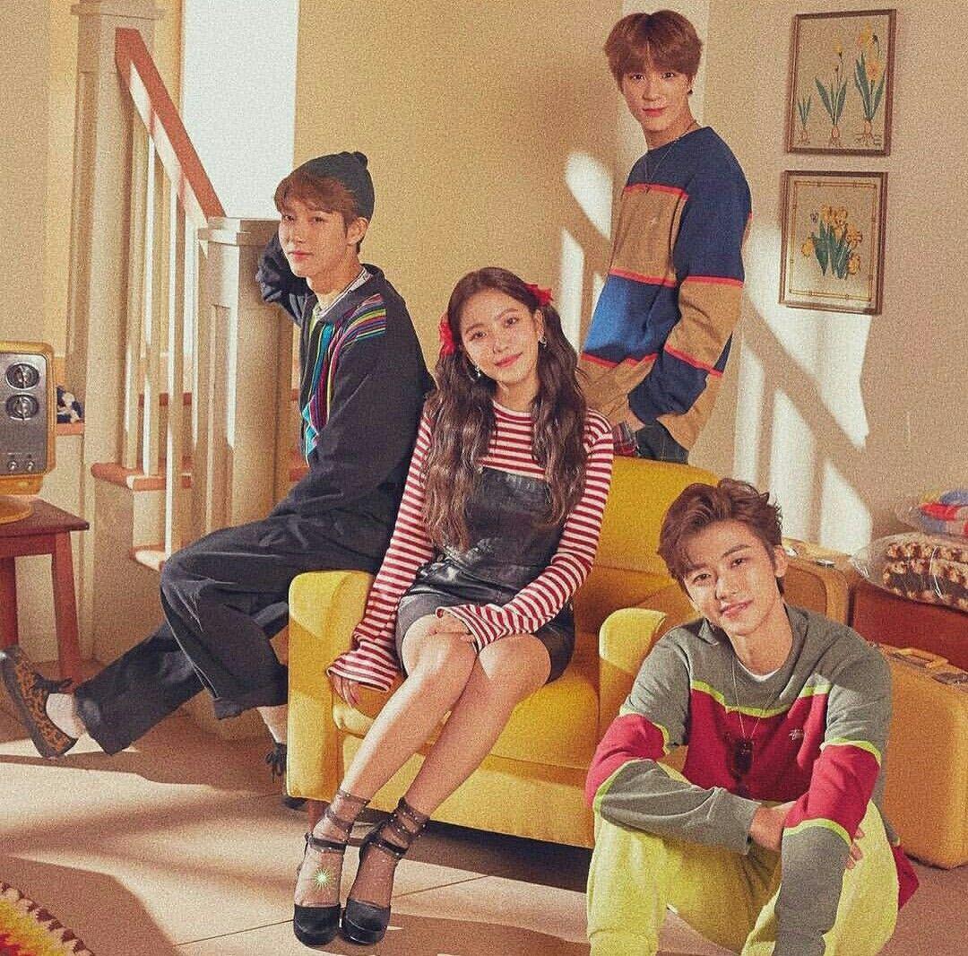 Jaemin, Jeno and Renjun (NCT) and Yeri (Red Velvet) Nct