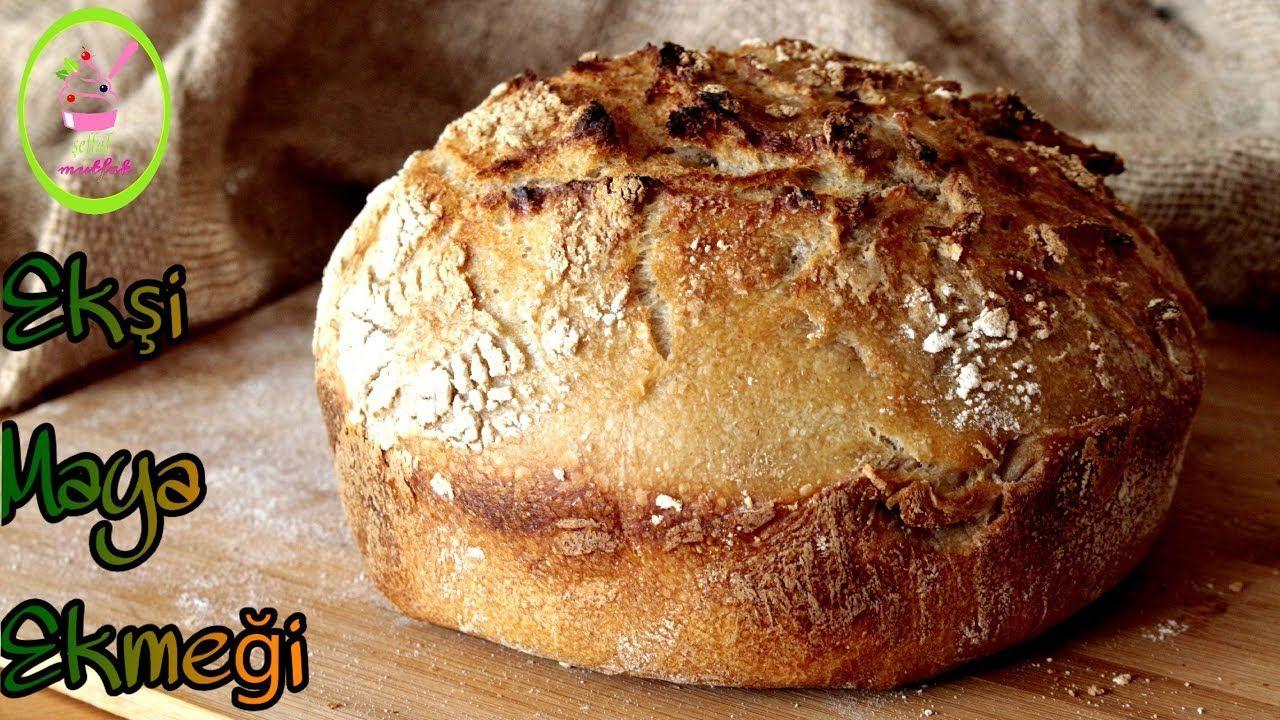 Evde Hamur Yoğurmadan Ekmek Yapımı Videosu
