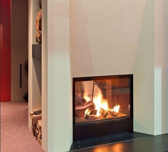 moderner kamin mit 2 sichtseiten geschlossene holz feuerstelle schiebet r ultime mf 1050 75. Black Bedroom Furniture Sets. Home Design Ideas