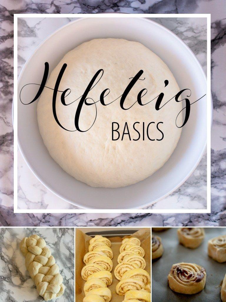 Hefeteig Basics: Frische Hefe und Trockenhefe #pizzateigmittrockenhefe