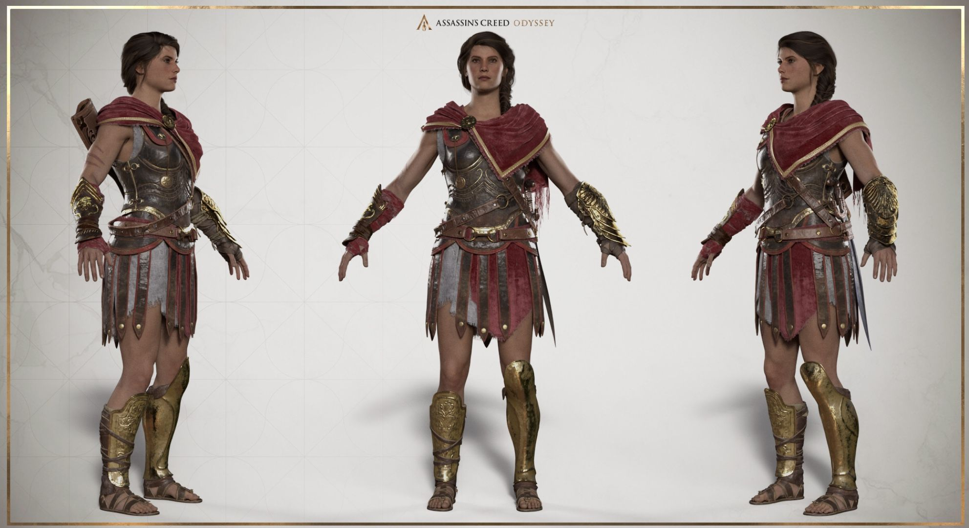 Odyssey Kassandra Costume Assassins Creed Cosplay Assassins
