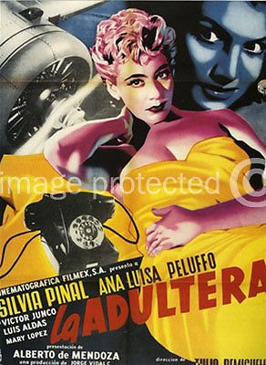 La Red Vintage Mexican Cinema Poster reproduction giclee/' 24x36 inch