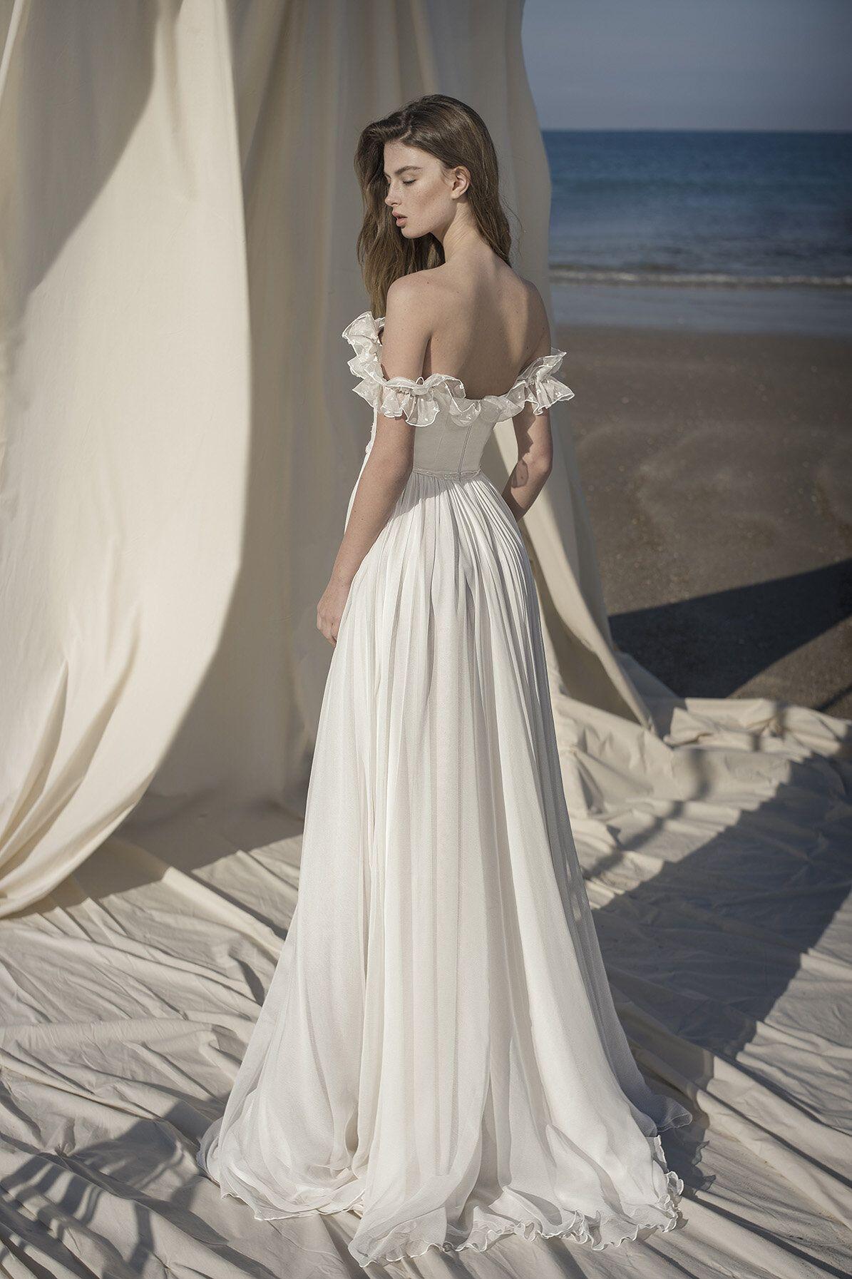Marine Wedding Dress — Alon Livné White in 2020 Marine