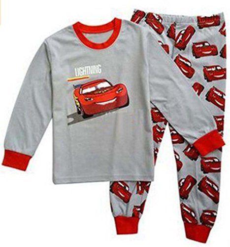 Size:2-7years Babygp red car Boys 2 Piece Pajama 100/% Cotton