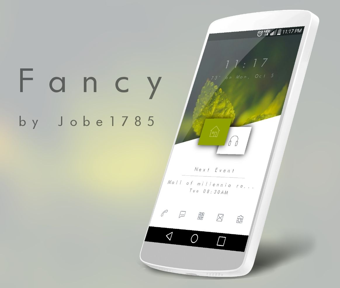 Fancy Android Homescreen by jobe1785 - MyColorscreen | Mobile Design ...