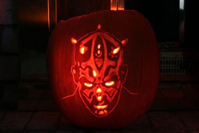 Top 10 Star Wars Pumpkin Carvings
