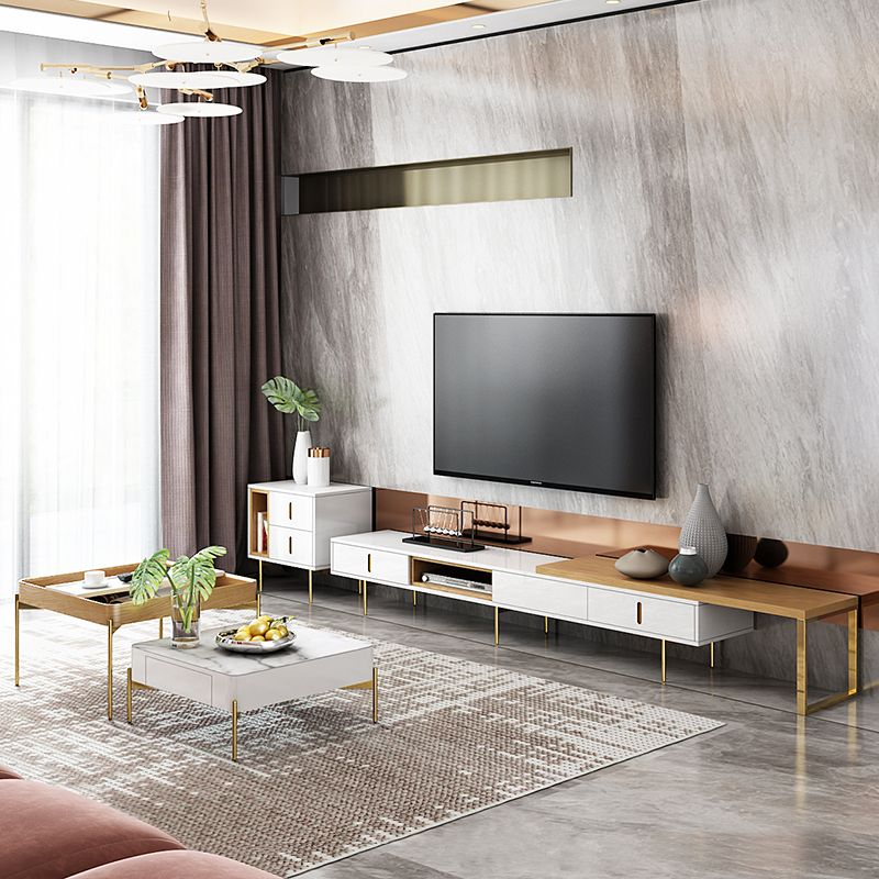 Square Tv Cabinet And Coffee Table Living Room Decor Apartment Living Room Tv Luxury Living Room Living room table for tv