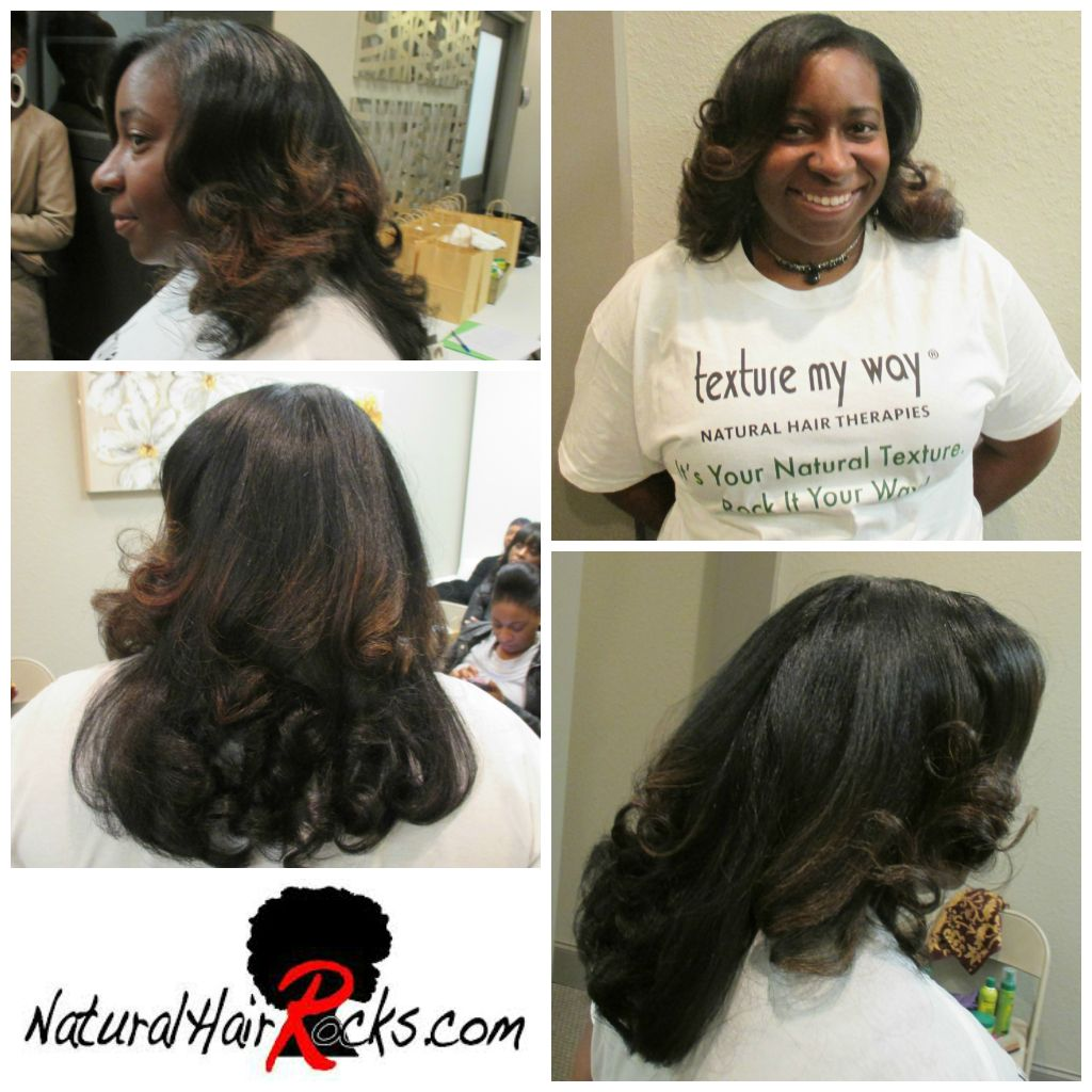 Versatile Natural Hair Styling Class Taught By Anhc Pro Member Curley Mckenzie Featuring Texture My Way Natural Ha Hair Therapy Natural Hair Styles Hair Styles