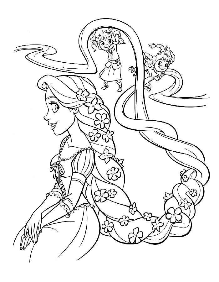 Coloring Pages For 8 Year Old Girls Rapunzel Coloring Pages Disney Coloring Pages Baby Coloring Pages