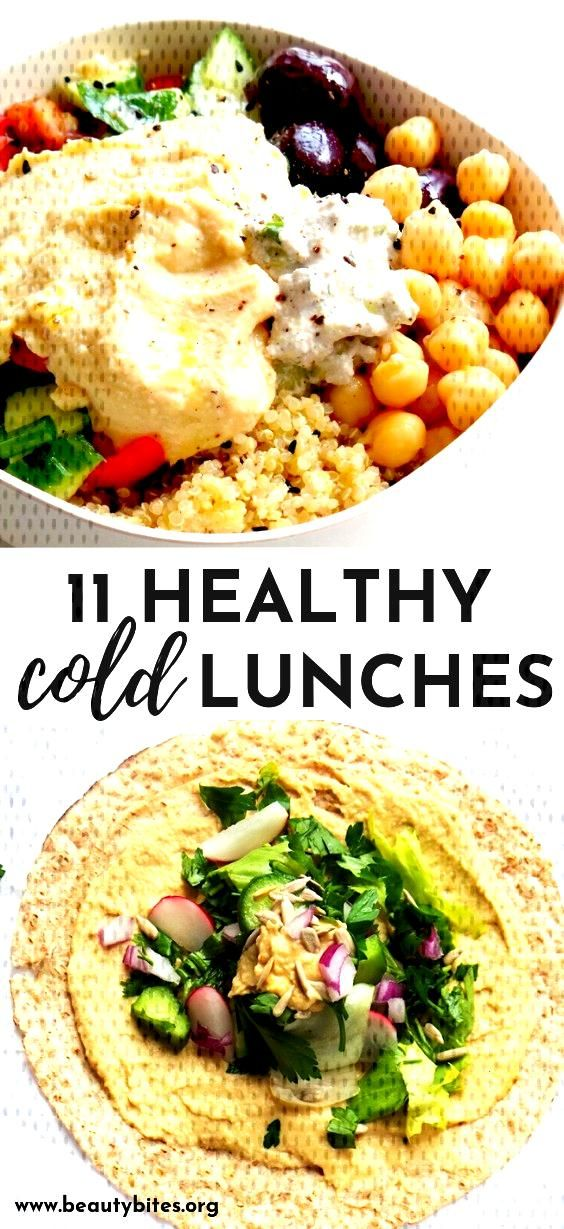 11 Clean Eating Cold Lunches   Easy Vegetarian Ideas - Beauty Bites - 11 healthy cold vegan lunche