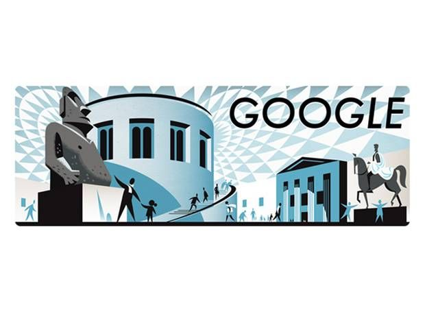 255th anniversary of the British Museum: Google Doodle celebrates institution's opening - News - Gadgets & Tech - The Independent