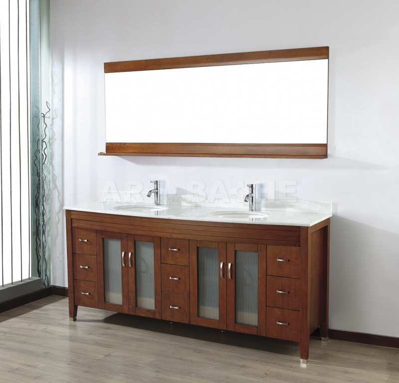 Alba 75 Classic Cherry Bath Vanities  Adirondack  Pinterest Awesome Cherry Bathroom Vanity Design Inspiration