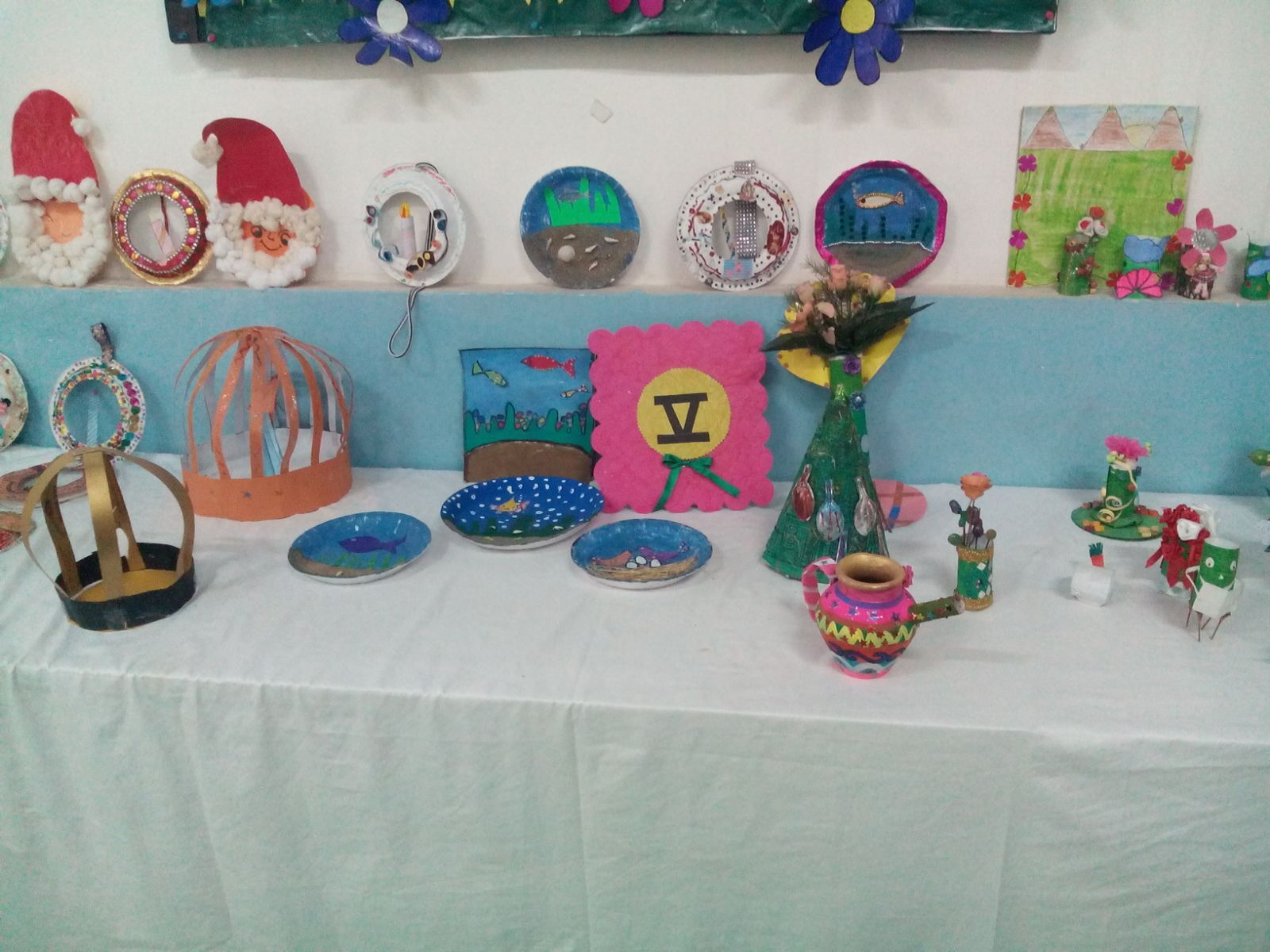 Art And Craft Exhibition Backdrop Ideas And Class Room Decoration
