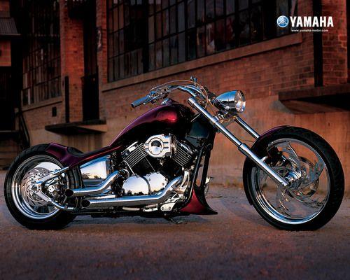 Motorcycles Wallpaper: YAMAHA CHOPPER