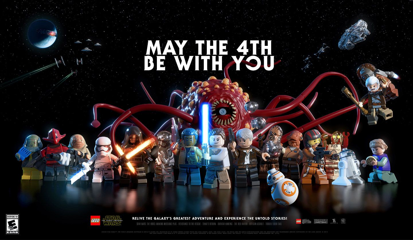 Lego Star Wars Free Wallpaper From The Force Awakens Video