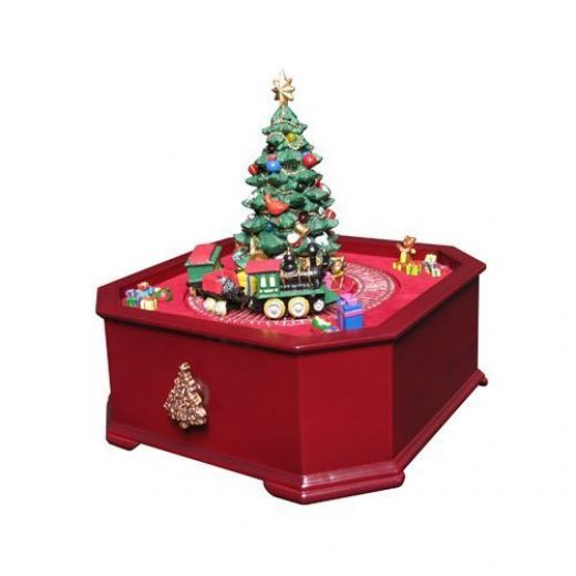 Animated Symphony Of Bells Musical Tabletop Decoration Inspiration Christmas Music Boxes  Christmas Music Box Music Boxes And Design Decoration