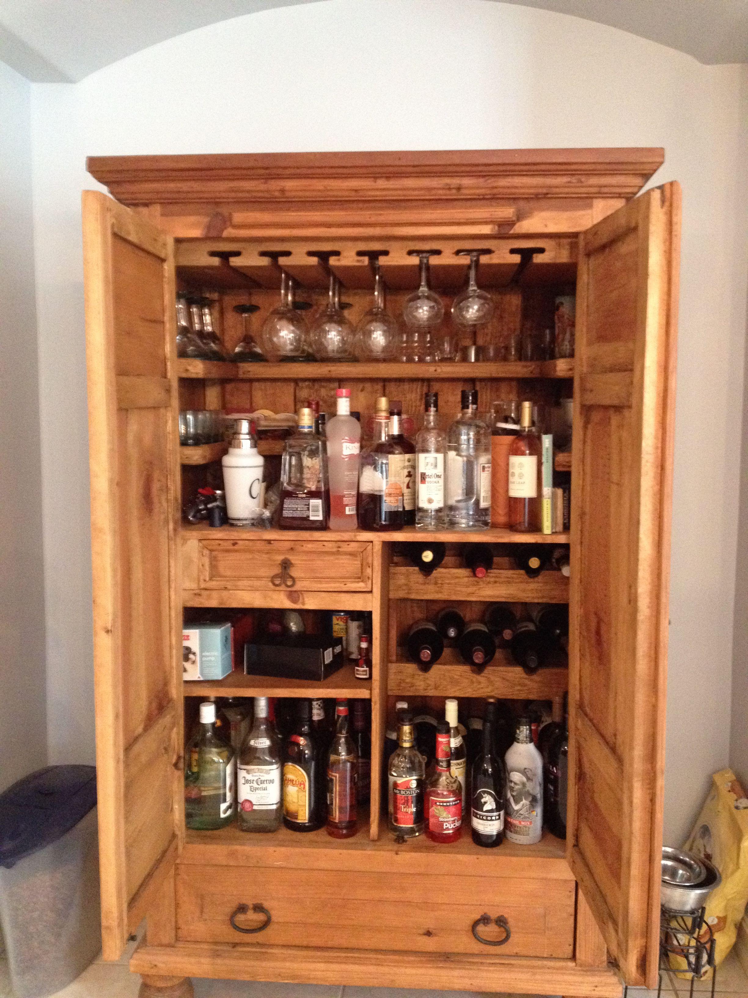 Hidden booze redo furniture diy