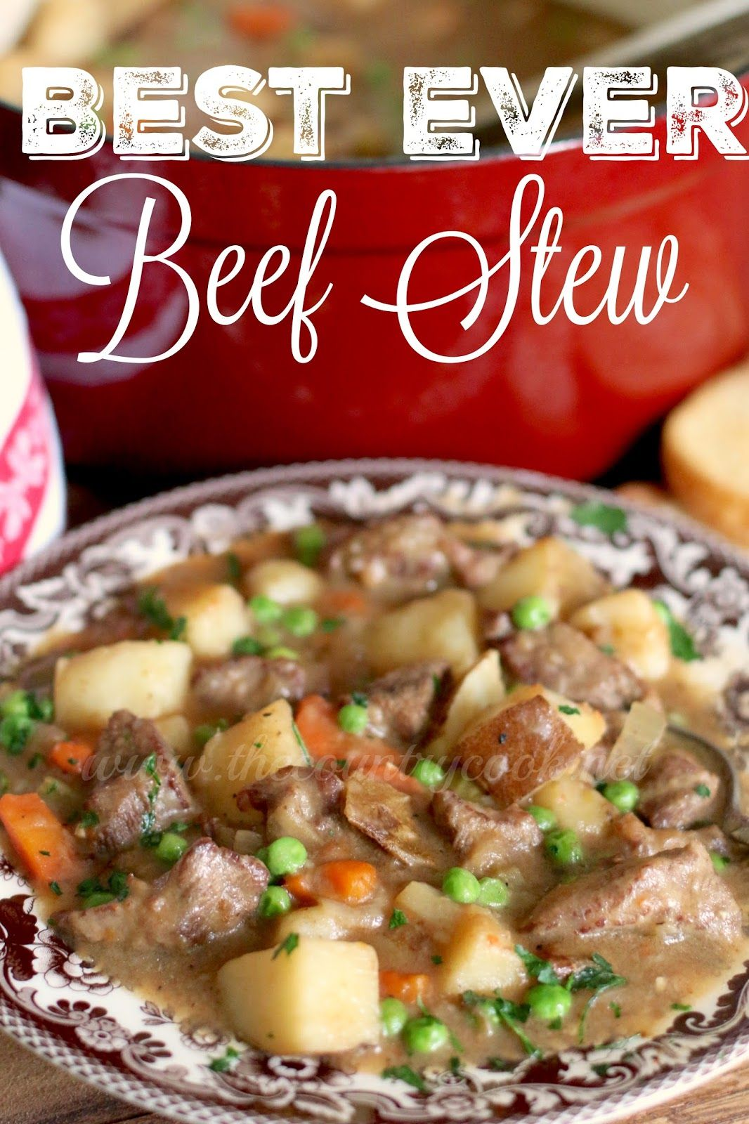 One Pot Best Ever Beef Stew The Country Cook Recipe Cooking Recipes Beef Recipes Cooking