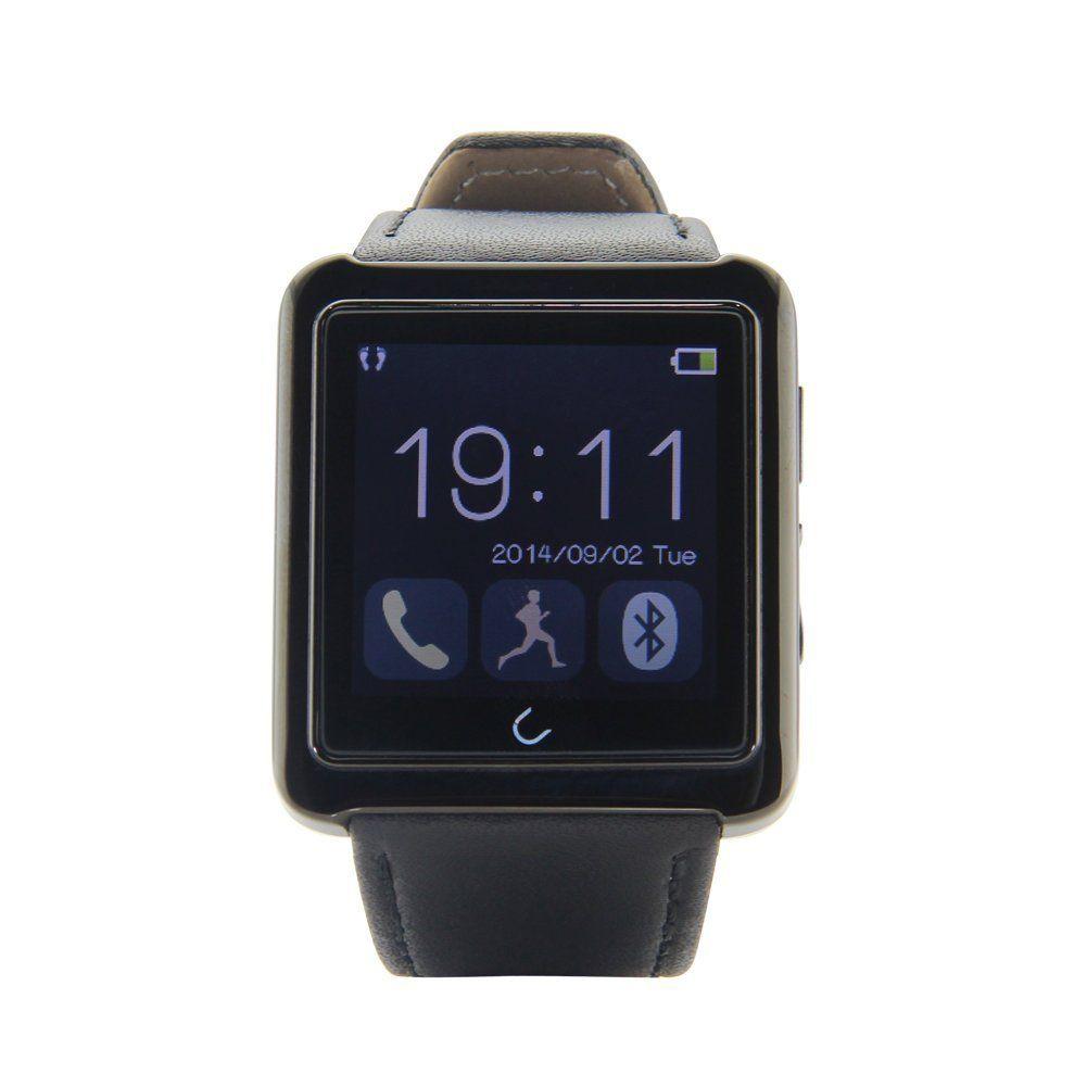 First U10 Bluetooth Smart Watch waterproof Leather Strap