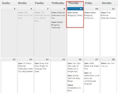 Calendar Sample Design How To Design A Social Media Campaign  Social Media Examiner .