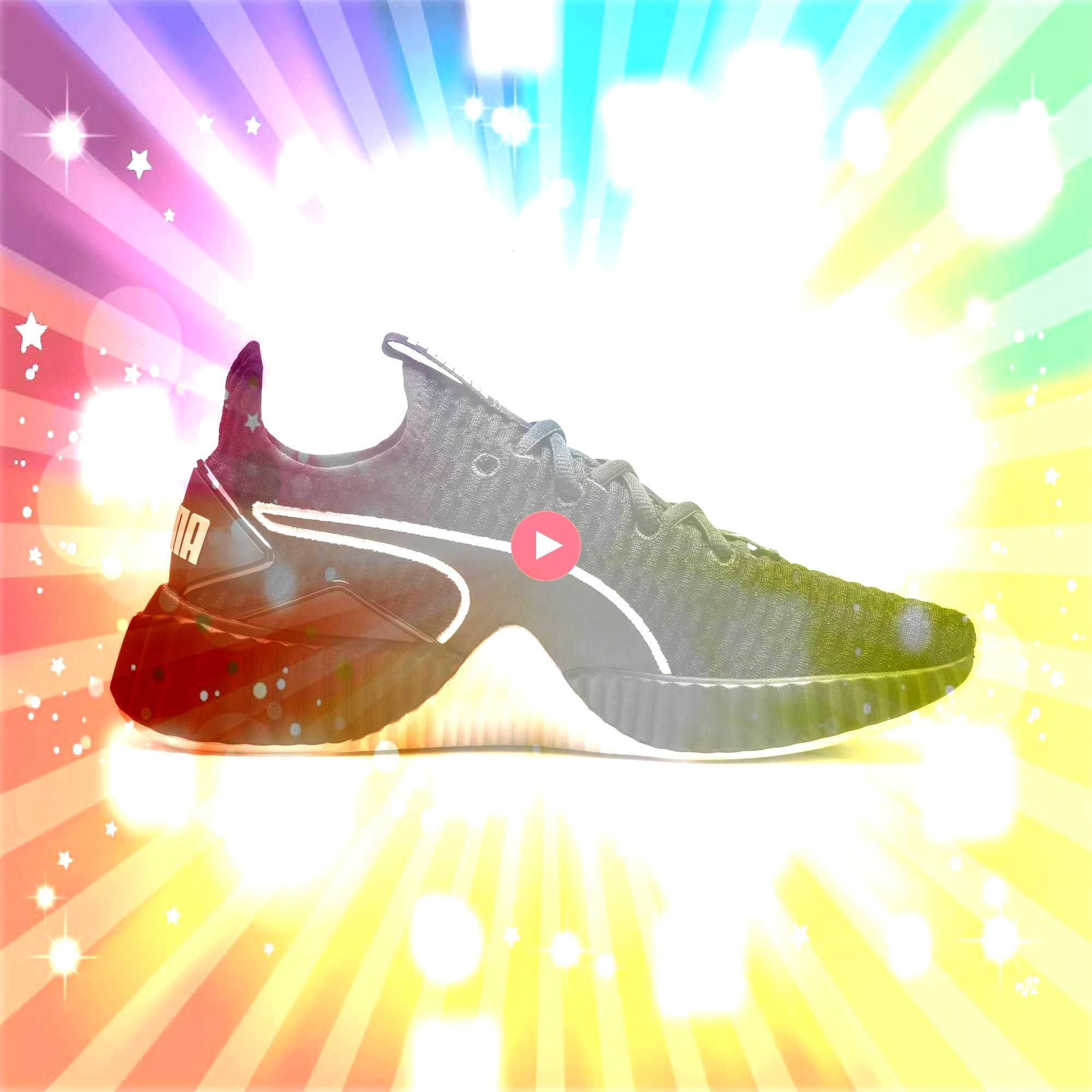 Womens Trainers in BlackPastel Parchment size 35 PUMA Defy Damen Sneaker in Schwarz  Pastell Pergament Größe 35PUMA Defy Womens Trainers in BlackPastel Parchme...