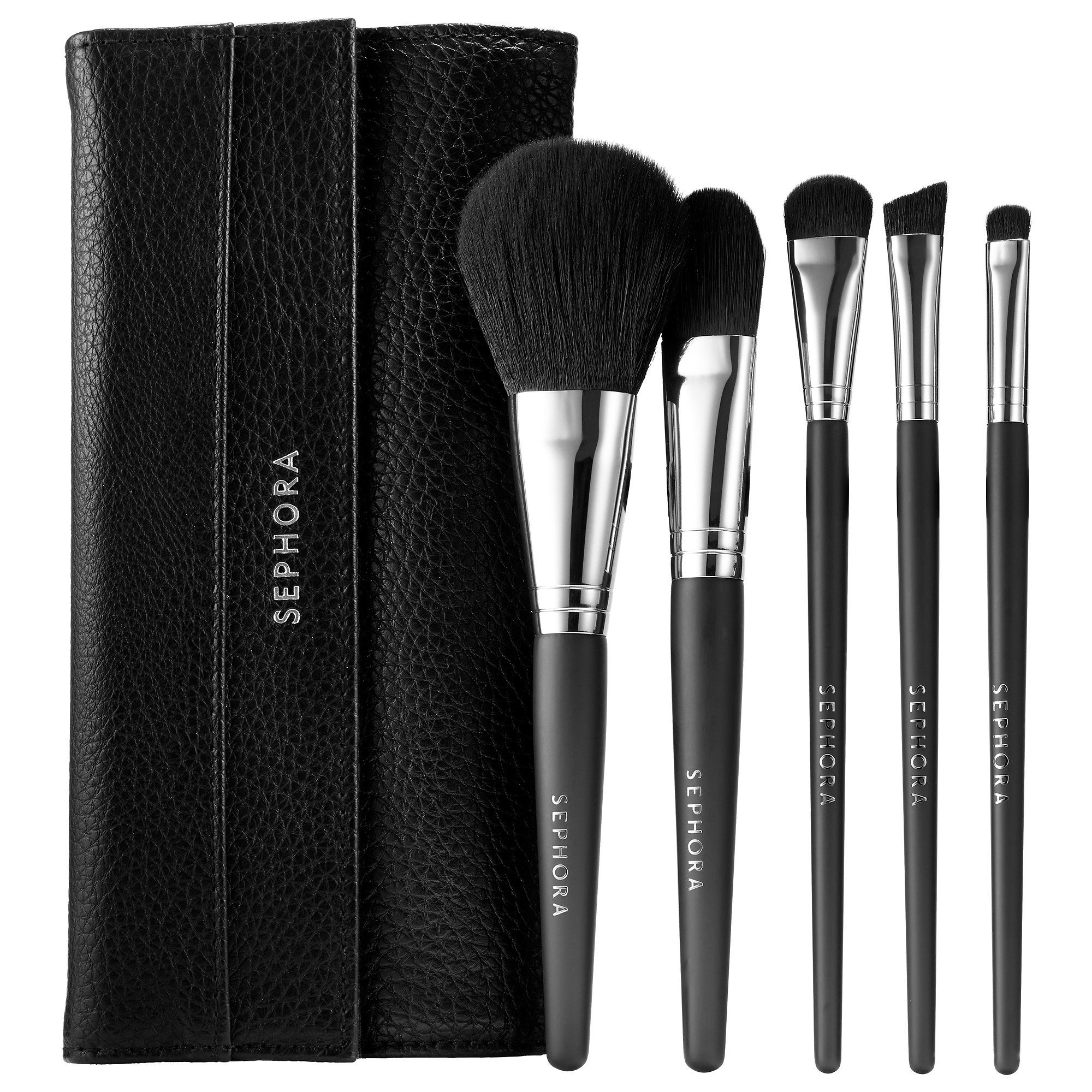 Shop the Face the Day Full Face Brush Set by SEPHORA