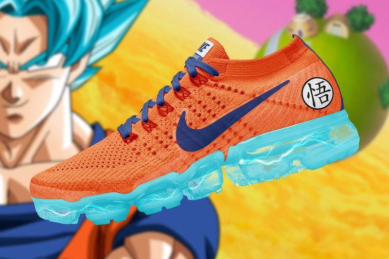 ae729dbc48a This Artist Created the Ultimate  Dragon Ball Super  x Nike Air VaporMax  Collaboration