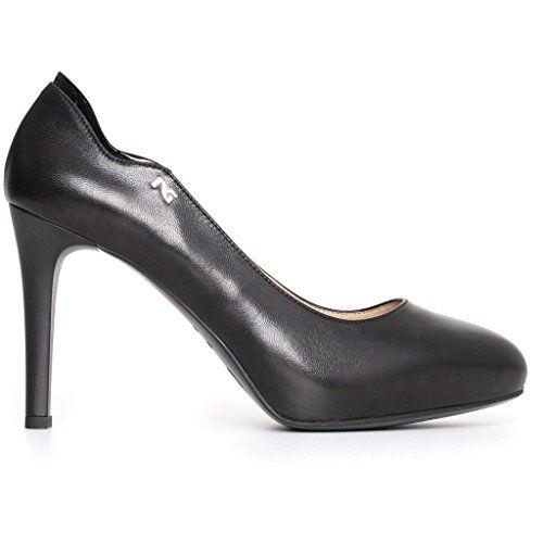 GUESS Decolt spuntate TG. D 38 Grigio Bianco Scarpe da donna tacco alto shoes PUMPS NUOVE