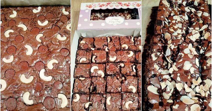 Makasih Resep Browniesnya Bener Benar Melted Brownies Panggang Ala Cinderchella Yourie By Sri Rahayu Widiastuti Widiastuti Brownies Makanan Manis Panggang
