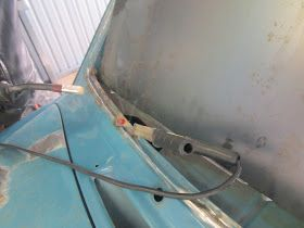 built up weld in frame front windshield volvo 122s rust repairs rh pinterest co uk
