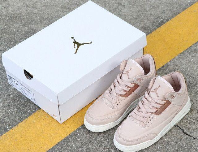 la meilleure attitude dfeeb 90854 Air Jordan 3 NRG Rose Gold | Jordan Shoes in 2019 | Rose ...
