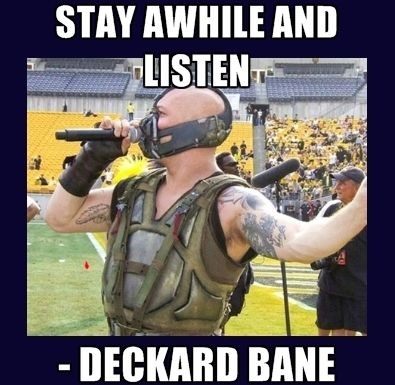 Oh That Voice Deckard Bane Diablo3 Bane Batman Diablo Funny