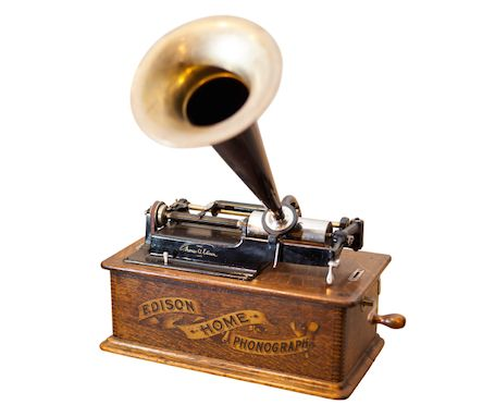 The Phonograph Was Invented In 1877 By Thomas Edison And It First To Be Able Reproduce Recorded Sound