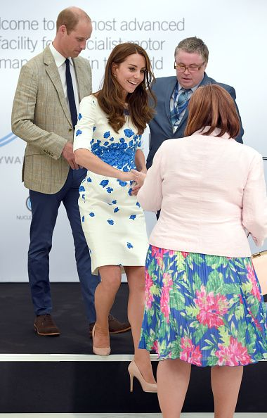 Royal Family Around the World: Prince William, Duke of Cambridge and Catherine, Duchess of Cambridge Visit Luton on August 24, 2016