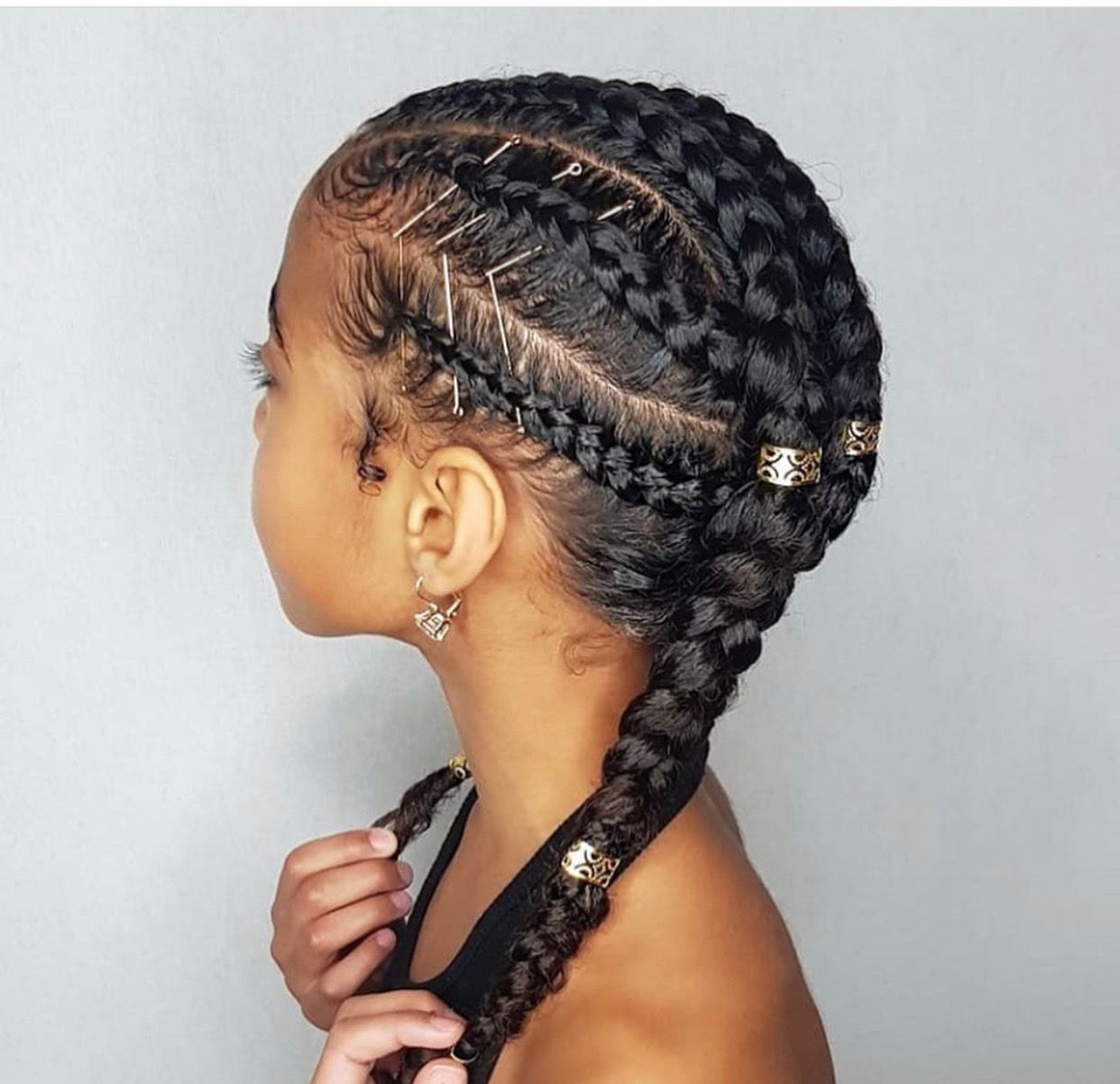 Kids Natural Hairstyles We Can Match Someday Very Soon Natural Hair Styles Kids Hairstyles Cornrow Hairstyles