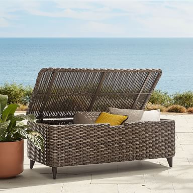 Up To 50 Off Outdoor Furniture Decor West Elm Outdoor Furniture Decor Outdoor Storage Trunk Lounge Chair Outdoor