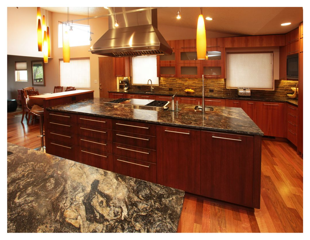 Pullman Kitchen Granite Bay Cosmos Modestogranite Kitchen Fabricated And Installed By Rocky