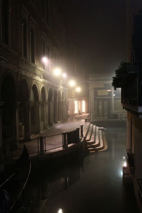 Venice at night - mystical and mysterious