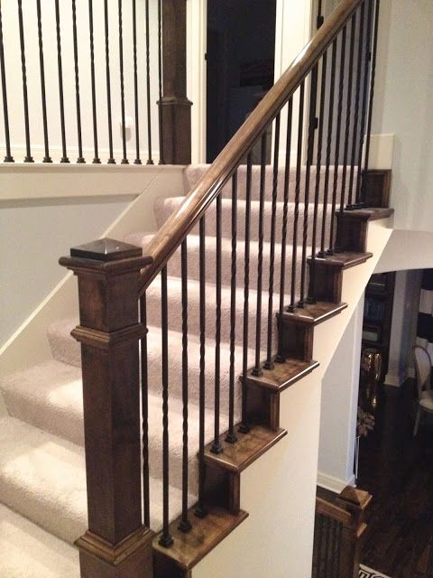 Best Stair Update Carpet Stairs Hardwood Stairs Stairs 400 x 300