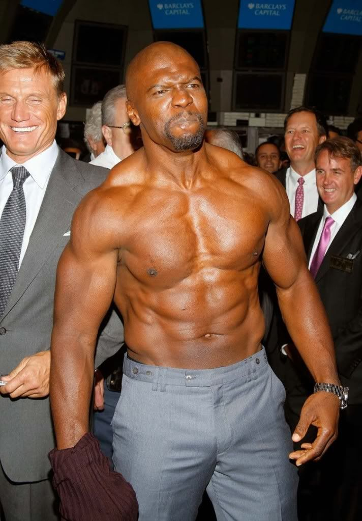 Terry Crews...muscles!!!! | Workout plan for women, Terry ...